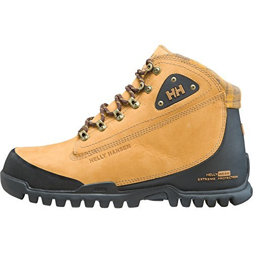 Helly Hansen Men's Knaster 3 Cold Weather Boot, New Wheat/Coffee Bean, 10 M US