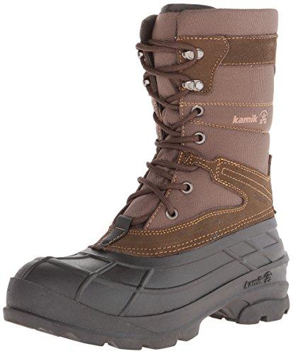 Kamik Men's Lasalle Boot,Dark Brown,13 M US