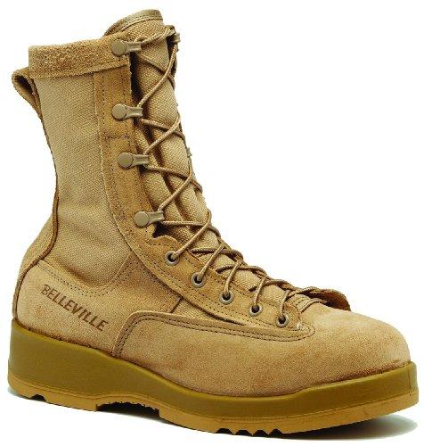 Belleville 790ST Men's 8-in WP ST EH Tactical Boot Tan 10.5 M US