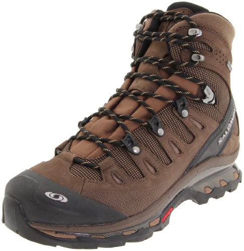 Salomon Men's Quest 4D GTX Backpacking Boot,Absolute Brown-X/Burro/Wood Beige,11 M US
