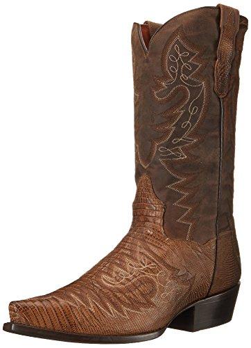 Dan Post Men's Asheville Western Boot, Bay Apache, 9 D US
