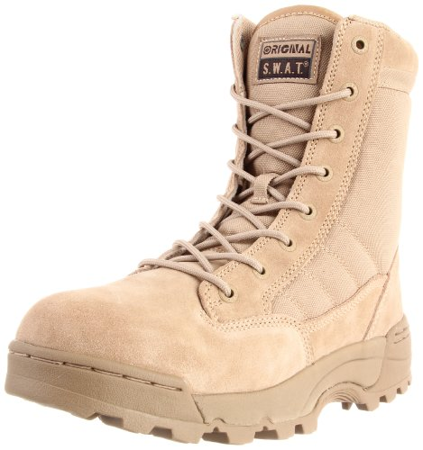 Original S.W.A.T. Men's Classic 9 Inch Tactical Boot, Tan, 11.5 D US