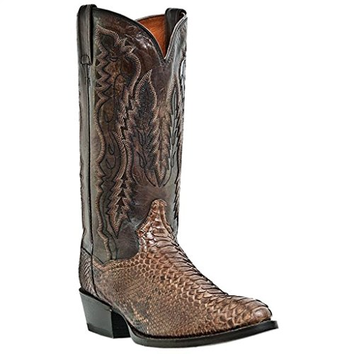Dan Post Mens Genuine Python Western Bay Apache Cowboy Boots