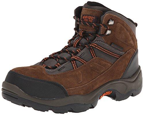 Hi-Tec Men's Bandera Pro Mid ST Work Boot,Chocolate,10 M US