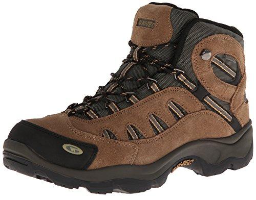 Hi-Tec Men's Bandera Mid WP Hiking Boot,Bone/Brown/Mustard,8.5 M US