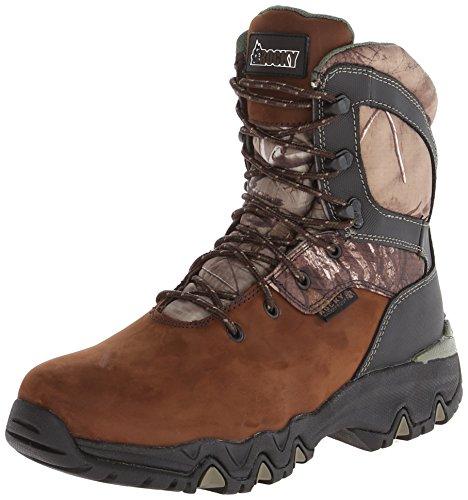 Rocky Men's 8 Inch Bigfoot 103 Snow Boot,Brown,11.5 XW US