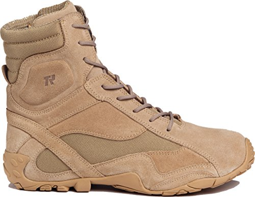 Tactical Research TR360 Men's Khyber 8-in Hybrid Tactical Boot Tan 10 W US