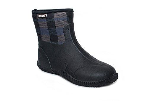 Muk Luks Men's Pete Rain Boot, Black, 12 M US