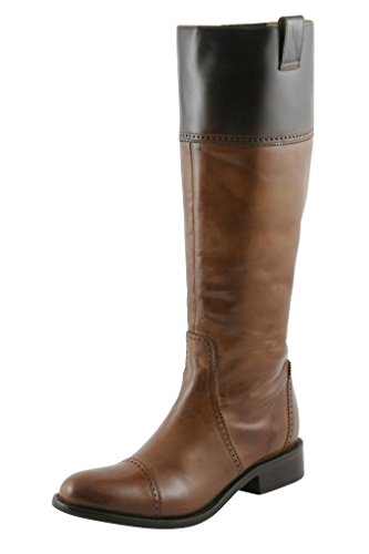 Lucchese Women's I4923 Charlie 1 Horse Leather Riding Boots 10.5 M US Tan & Mahogany