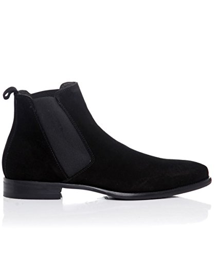 Joss Suede Chelsea Boots Black US10.5 / UK9.5