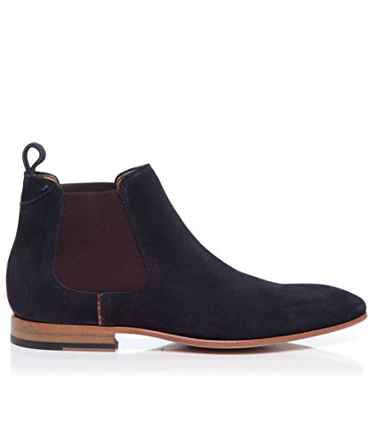 Paul Smith Shoes Suede Falconer Chelsea Boots Navy US11 / UK10