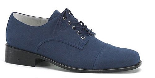 Funtasma Men's King 01 Oxfords,Blue,Medium