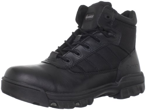 Bates Men's Enforcer 5 Inch Nylon Leather Uniform Boot, Black, 10.5 XW US