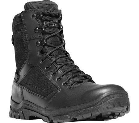Danner Men's Lookout 8″ WP Black Work Boot 10.5 D
