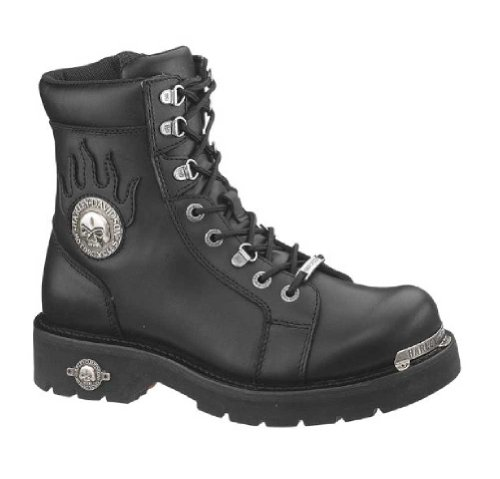 Harley-Davidson Men's Diversion Boot,Black,10.5 M