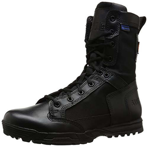 5.11 Men's Skyweight Waterproof Side Zip Tactical Boot, Black, 7.5 D(M) US
