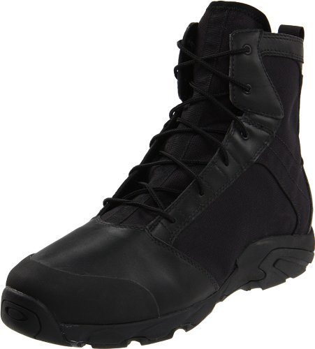 Oakley Men's LSA Boot Terrain Military Boot, Black, 8.5 M US