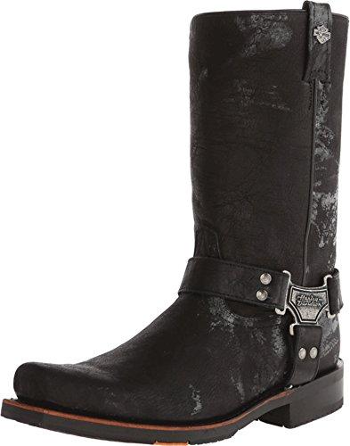 Harley-Davidson Men's Sawyer Motorcylce Harness Boot, Black, 8.5 M US