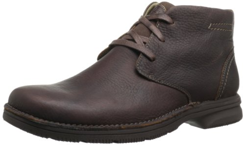 Clarks Men's Senner Ave Boot,Brown Tumbled Leather,10.5 W US