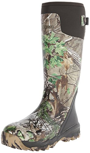 LaCrosse Men's Alphaburly Pro 18″ Hunting Boot,Realtree Xtra Green,14 M US