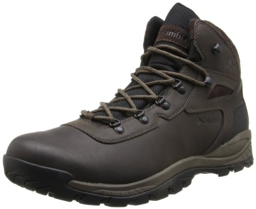 Columbia Men's Newton Ridge Plus Hiking Boot,Cordovan/Treasure,14 M US