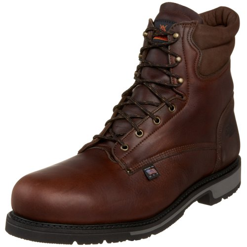 Thorogood American Heritage 8″ Safety Toe Boot, Black Walnut Badlands, 16 3E US