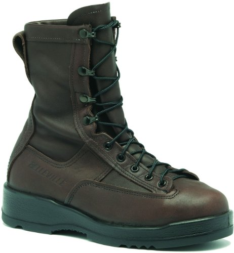 fa1f7cea0c284 Belleville 330ST Men's 8-in WP ST EH Flight Tactical Boot Chocolate ...