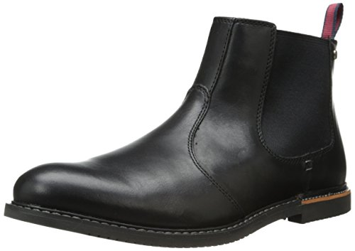 Timberland Men's EK Brook Park Chelsea Boot,Black Smooth,12 M US