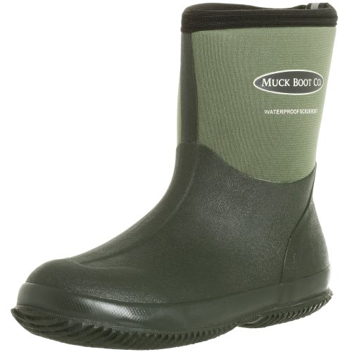 The Original MuckBoots Adult Scrub Boot,Garden Green,12 M US Mens/13 M US Womens