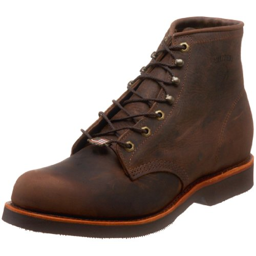 Chippewa Men's 20065 6″ Rugged Handcrafted Lace-Up Boot,Chocolate Apache,7.5 D US