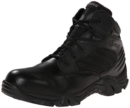 Bates Men's GX-4 4 Inch Ultra-Lites GTX Waterproof Boot, Black, 12 XW US