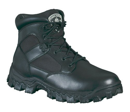 Rocky Men's AlphaForce Waterproof Boots,Black,16 W