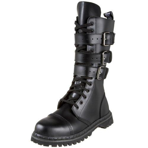 Pleaser Men's Gravel-14 Boots,Black Leather,13 M US
