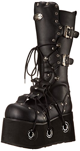 Pleaser Men's Furious-301 Boot,Black Polyurethane,10 M US