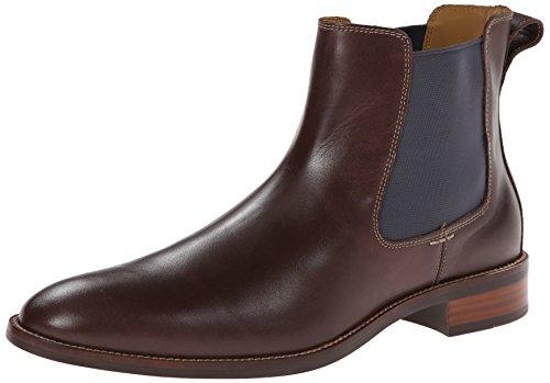 Cole Haan Men's Lenox Hill Chelsea Boot,Chestnut Water Proof,8.5 M US