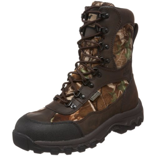 Irish Setter Men's Trail Phantom WP 9″ Big Game Boot,Realtree Hardwoods Green HD,8.5 EE US