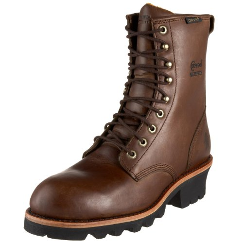 Chippewa Men's 26379 8″ Logger Waterproof Boot,Bay Apache,11 M US