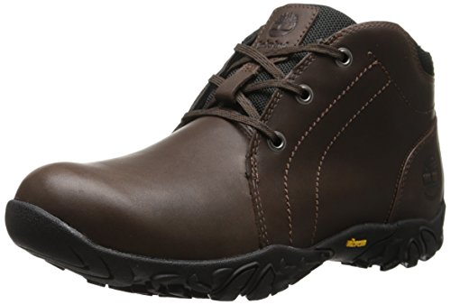 Timberland Men's EK Gorham Chukka Waterproof Snow Boot, Dark Brown, 11 M US