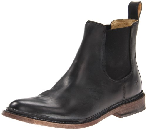 FRYE Men's James Chelsea Boot Black 9 M US
