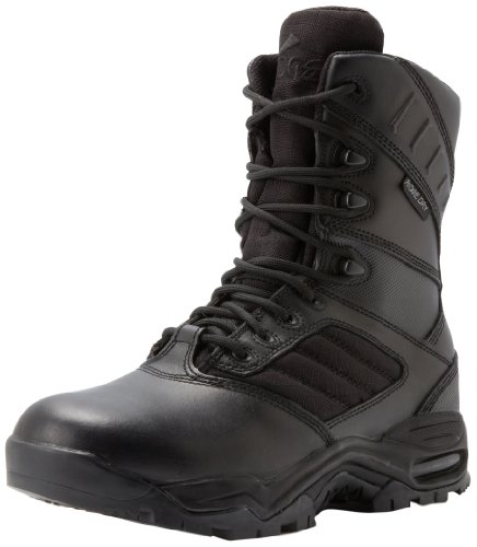 Ridge Footwear Men's Ultimate Zipper Boot,Black,13 W US