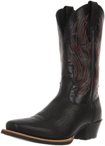 Ariat Men's Hotshot Boot,Buckboard Black,12 2E US