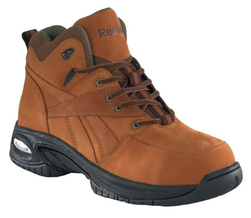 Reebok Men's Work Tyak Composite Toe Boot Golden Tan 10.5 W US