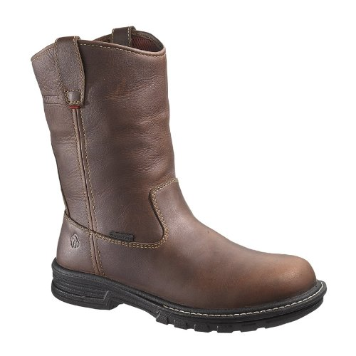 Wolverine Men's Meteor Well Fusion 180 WPF STL Work Boot, Brown, 12 M US