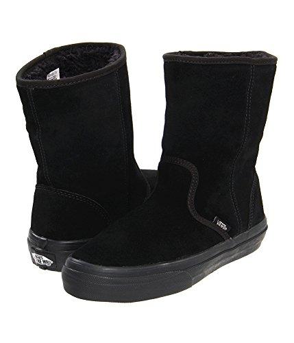 Vans Unisex Slip On Fur Suede Comfort Boots blackblack M3.5 W5