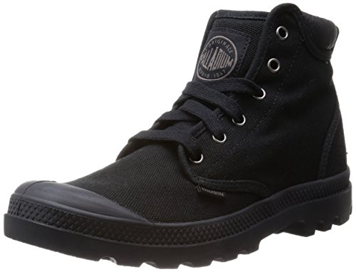 Palladium Men's Pampa Hi Cuff Combat Boot, Black, 10 M US