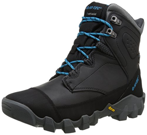 Hi-Tec Men's Valkerie I WP Hiking Boot,Black/Charcoal,11.5 M US