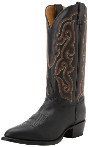 Nocona Boots Men's Legacy 4 Toe Boot,Black Calf,10.5 EE US
