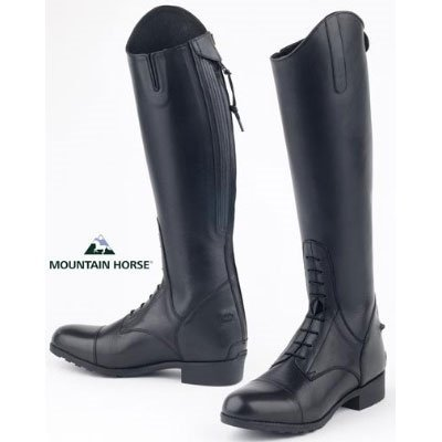 Mountain Horse Venice Field Boot Jr. – Black 5-6