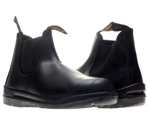 Blundstone Men's 413 Chelsea Work Boot,Black,7 UK/8 M US
