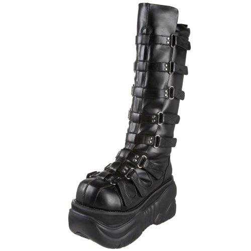 Pleaser Men's Boxer-200 Platform Boot,Black PU,12 M US
